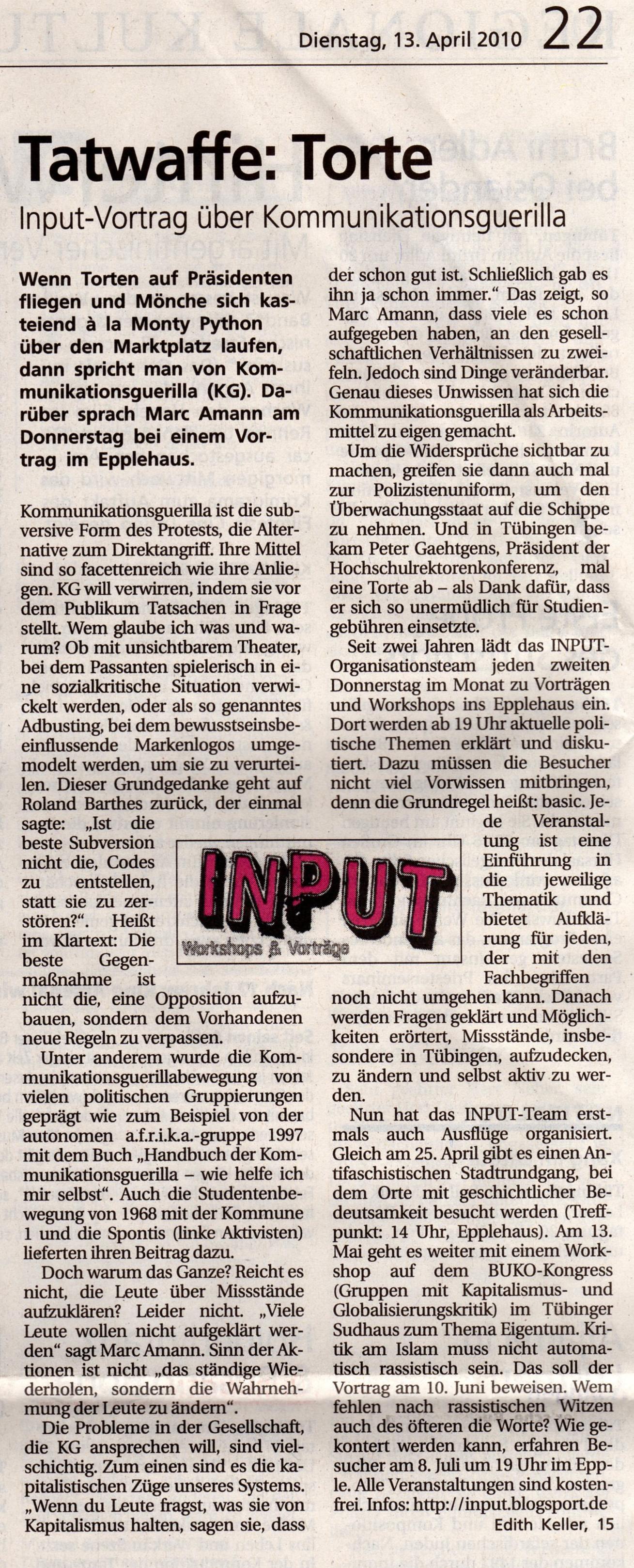 tagblatt artikel 2010-04-13